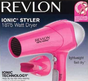 pinkhairdryer 300x277 Hot deals at Walgreens: Revlon Hair Dryer and More