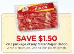 oscar mayer bacon coupon