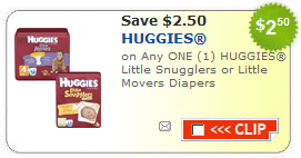 Kmart: Huggies Diapers for $2.50 per pack?