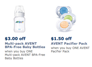 avent product coupons Avent Coupons for Bottles and Pacifiers