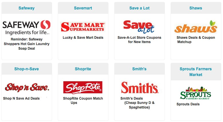 grocery store Grocery Store Deals and Coupon Match Ups Roundup: Bi Lo, Shaws, Kroger, HEB, Piggly Wiggly, Rite Aid, CVS, Walgreens and More
