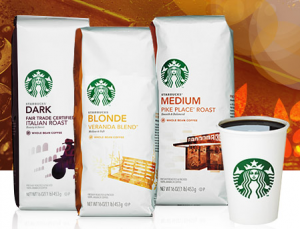 New Starbucks Coupon: Save Up to $4 Per Bag at Target