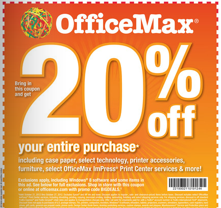 Screen Shot 2012 10 19 at 2.12.06 PM OfficeMax Deals for 10/21 10/27