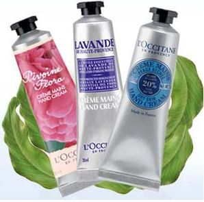 hand Free L'Occitane Hand Cream Sample ($5 value)