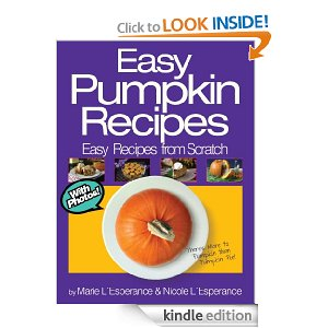 pumpkin recipes Free Kindle Book: Easy Pumpkin Recipes