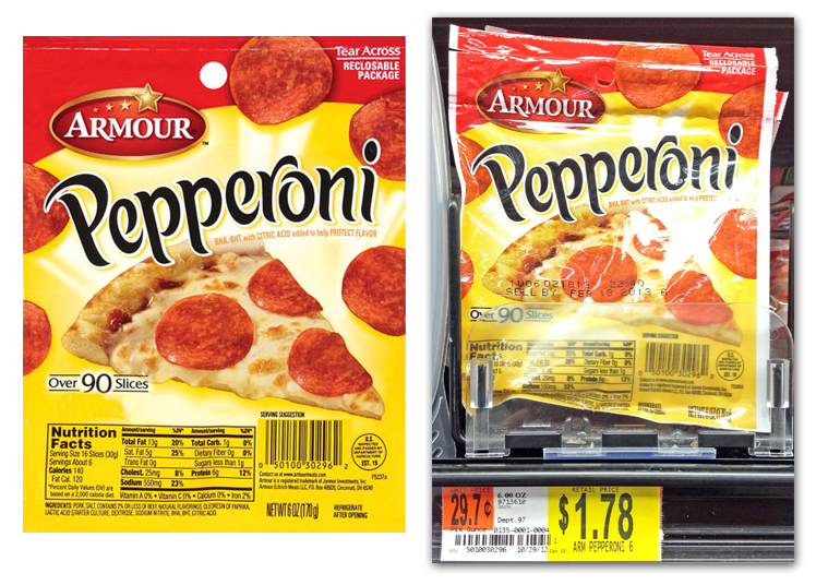 Armour Pep Walmart New Armour Pepperoni Printable Coupon + Walmart and Dollar Tree Deals