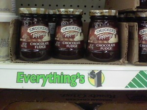 smuckers FREE Smuckers Toppings at Various Dollar Stores