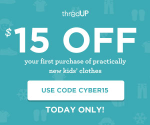 thred up FREE $15 Credit to ThredUP = FREE Items