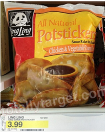 $2/1 Ling Ling Product Coupon = Makes Potstickers just $1.99 cents at Target