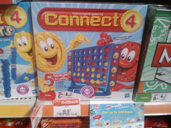 Connect4 1 15 13 thumb New Hasbro Game Printable Coupons + Walmart Deals