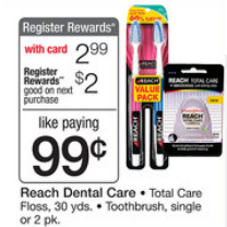 reach wags Reach Toothbrushes Moneymaker Deal at Walgreens