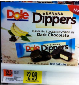 dole dippers New Dole Banana Dippers Printable Coupon + Walmart Deals