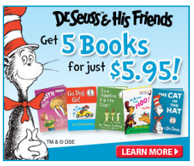 dr seuss Dr. Seuss & Friends Book Club | Get 5 Books for $5.95 + FREE Shipping