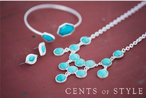 cents1 Cents of Style: 70% Off Turquoise Color Items = Earrings and Bracelet for $5.08 Shipped + More Deals