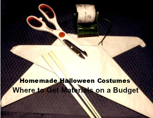 halloween get materials use Homemade Halloween Costumes | Where to Get Materials on a Budget