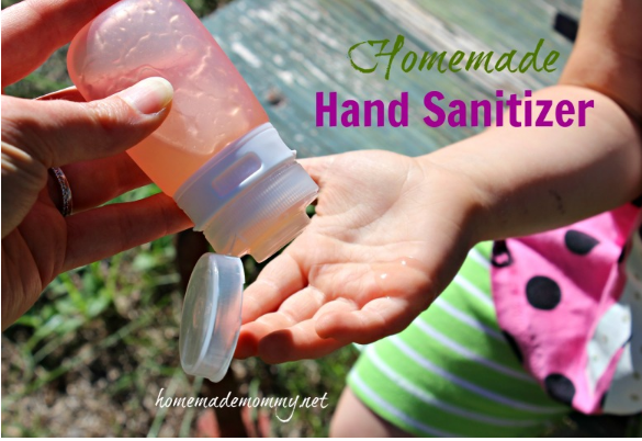 How to Make Your Own Homemade Hand Sanitizer