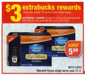 Upcoming CVS Deals Starting 10/13: Maxwell House Single Cups, Lubriderm Lotion and Candy