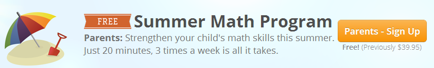 FREE Summer Math Program!