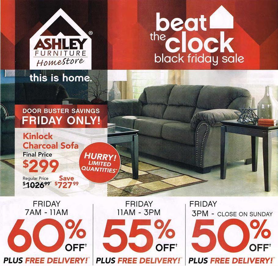 When Are Furniture Sales: Ashley Furniture Black Friday 2015 Ad