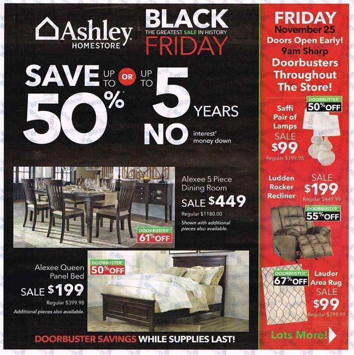 Ashley HomeStore Black Friday Ad 2016 - Pg 1 (Custom)
