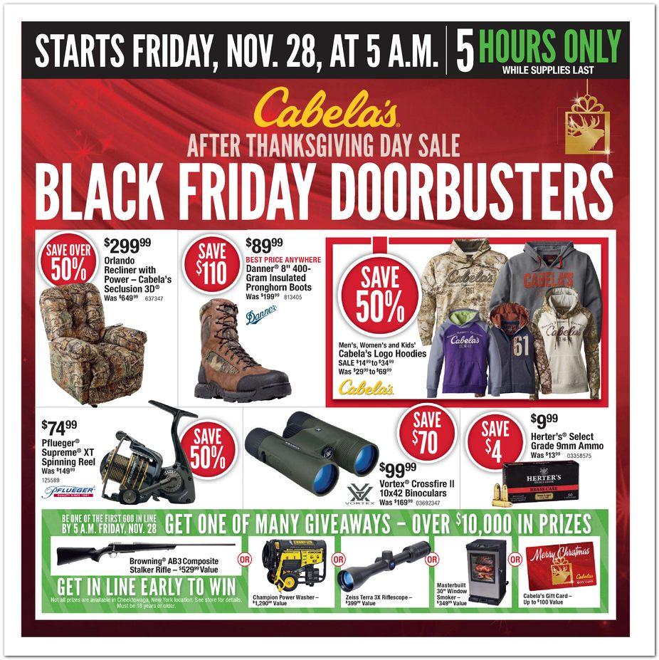Cabela's Black Friday Ad 2014 Pg 1