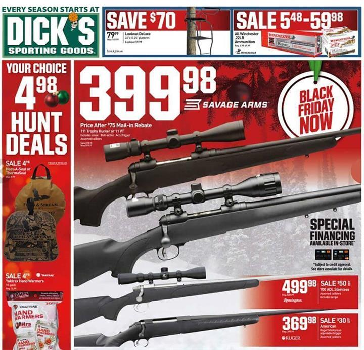 Dicks Sporting Goods Black Friday 2016 Ad - Pg 1