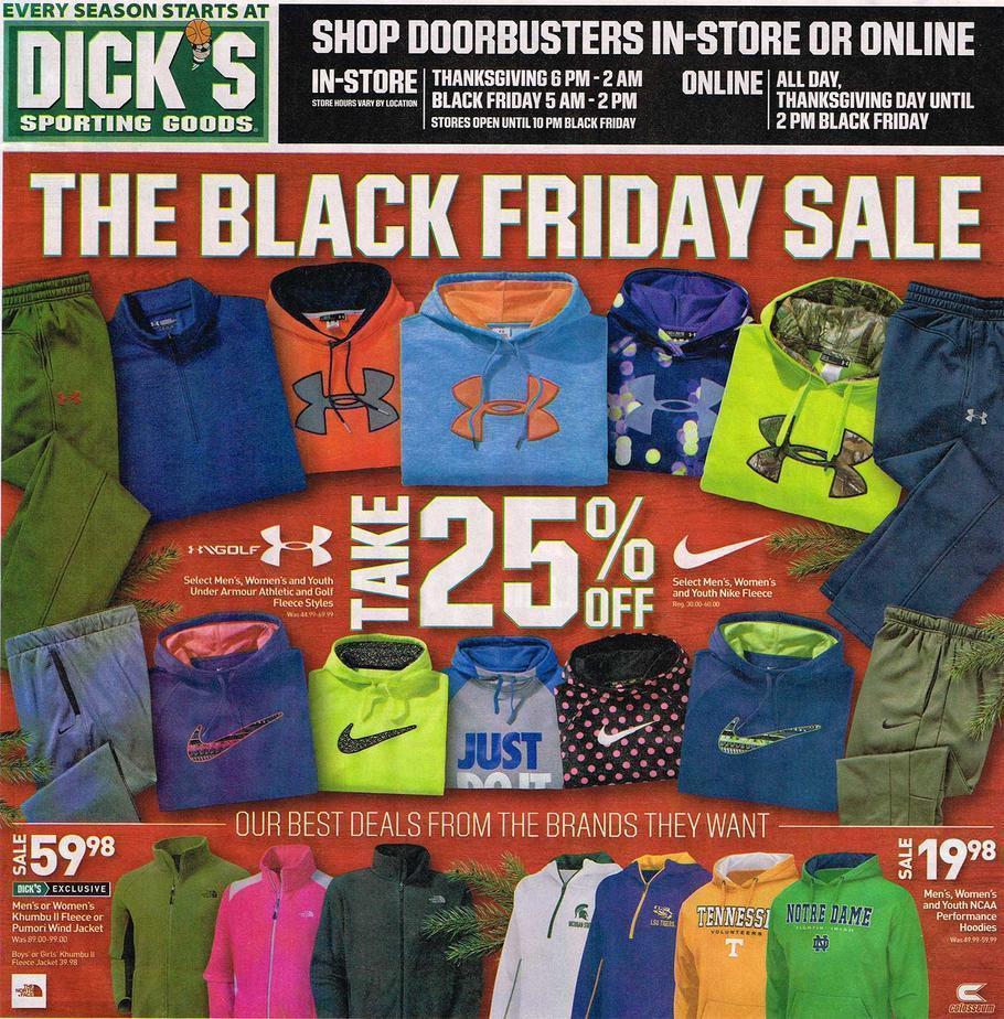 Dicks Black Friday 2015 Ad Page 1