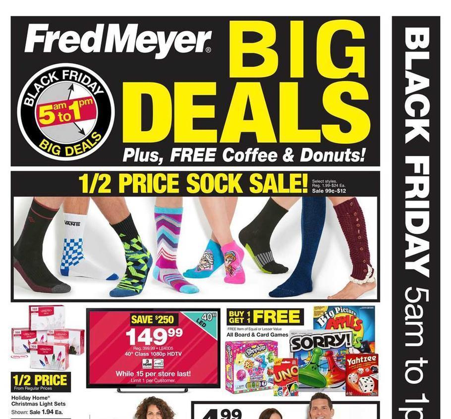 Fred Meyer Black Friday 2015 Ad Page 1