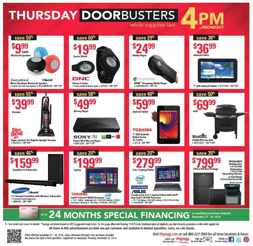 hhgregg Black Friday Ad 2014 Pg 20