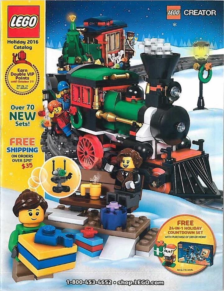 Lego Holiday Catalog - Page 1