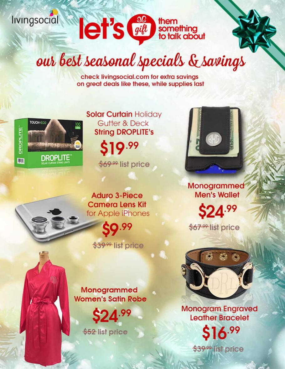 Living Social Black Friday 2015 Ad Page 1