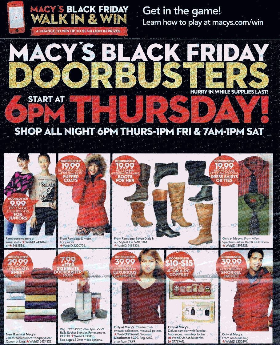 Macys Black Friday 2015 Ad Page 1