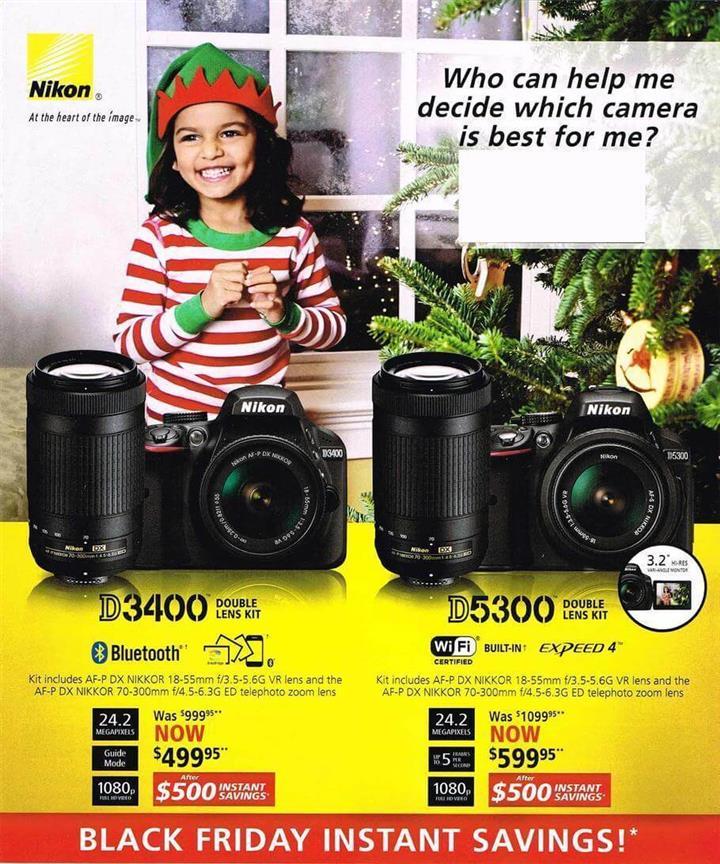 Nikon Black Friday Ad 2016 - Pg 1