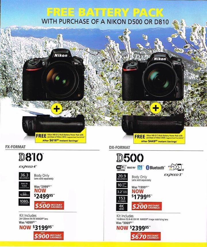 Nikon Black Friday Ad 2016 - Pg 2
