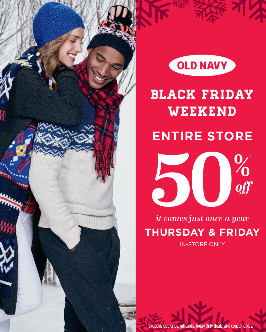 Old Navy Black Friday 2015 Ad Page 1