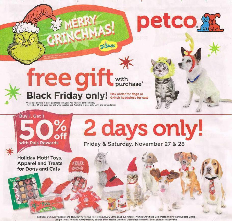 Petco Black Friday 2015 Ad Page 1
