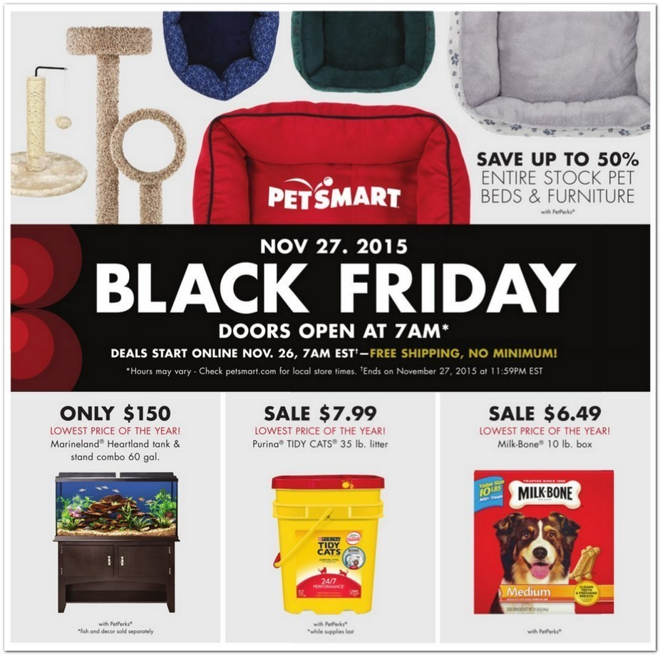 Petsmart Black Friday 2015 Ad Page 1
