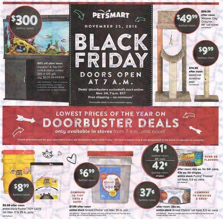 PetSmart Black Friday Ad 2016 - Pg 1