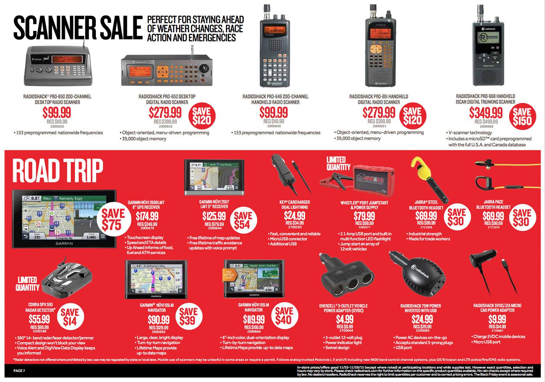 RadioShack Black Friday 2015 Ad Page 7