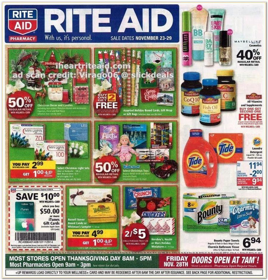 Rite Aid Black Friday Ad 2014 Pg 1