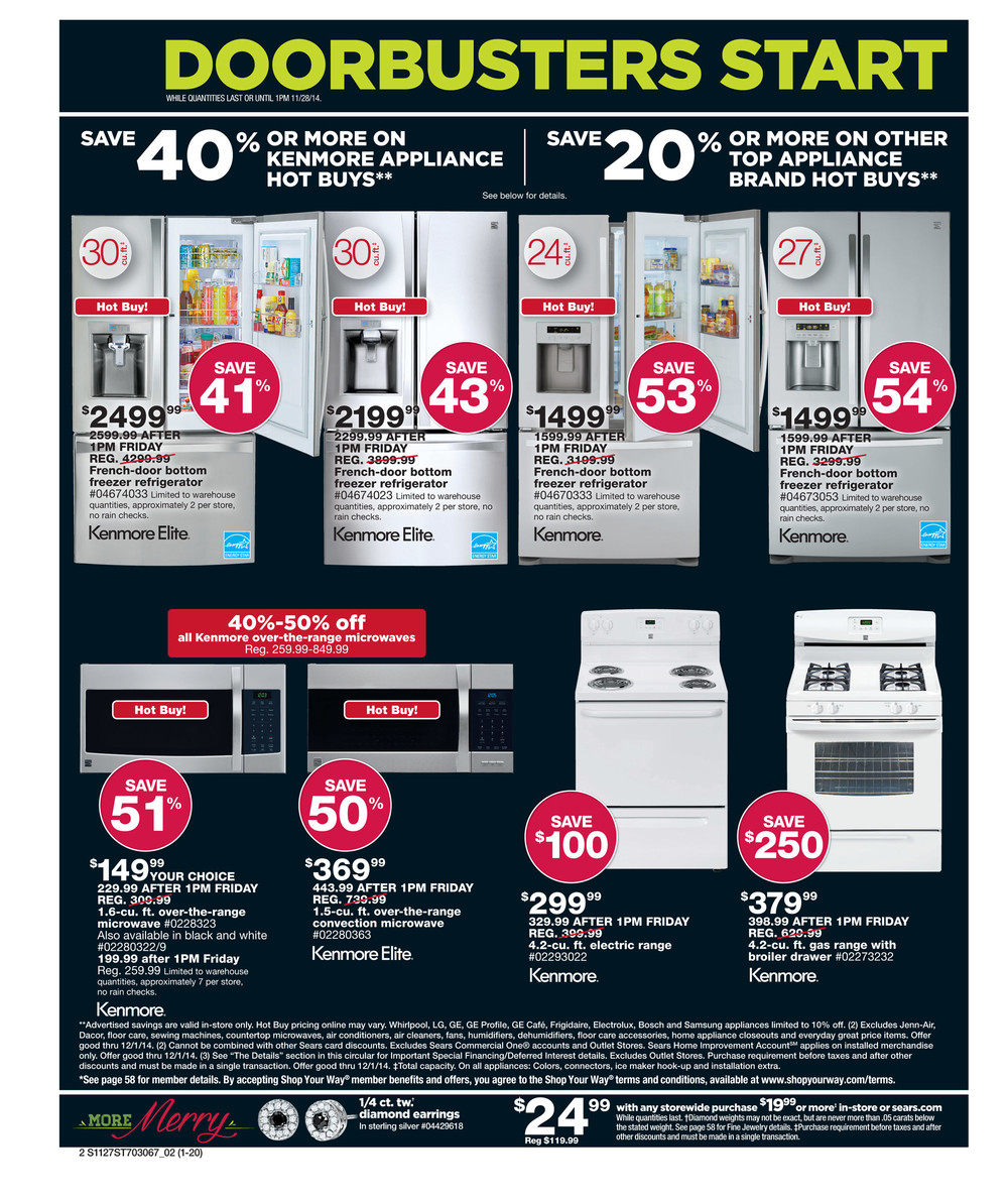 Sears Black Friday Ad 2014 Pg 2
