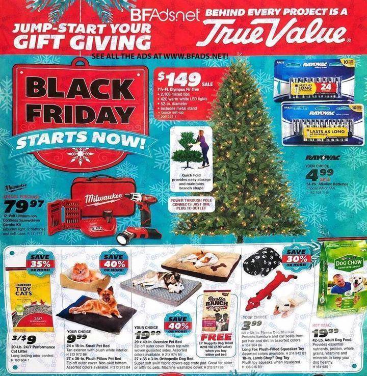 TrueValue Black Friday Ad 2016 - Pg 1