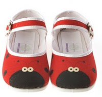 Suri Cruise's Ladybug Shoes on Sale
