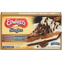 Edwards single choc cream