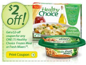 Hot Printable Coupons 2 Healthy Choice Common Sense With