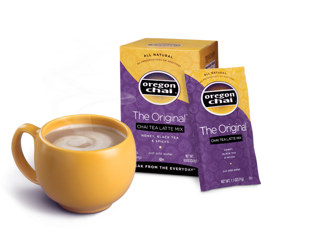 oregonchaicup1 Printable Coupons: Oregon Chai, Dole Fruit, Green Giant Veggies + More