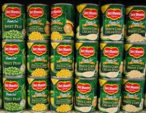 Earns Del Monte Foods