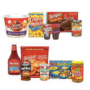 conagra family products Printable Coupons: Peter Pan, Chef Boyardee, Planters, Riceworks and More