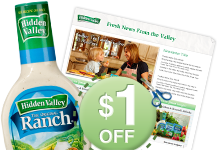 hidden valley coupon