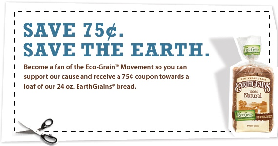 earthgrain bread coupon